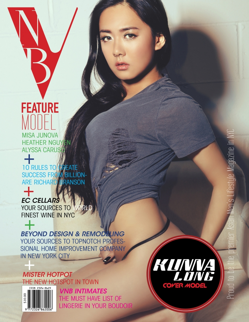VNB magazine cover model: Kunna Long