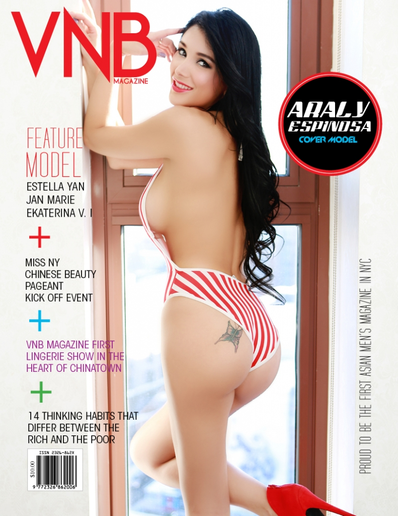 Cover Model: Araly  Hair: Steve Kong Makeup: Everlyn Ho
