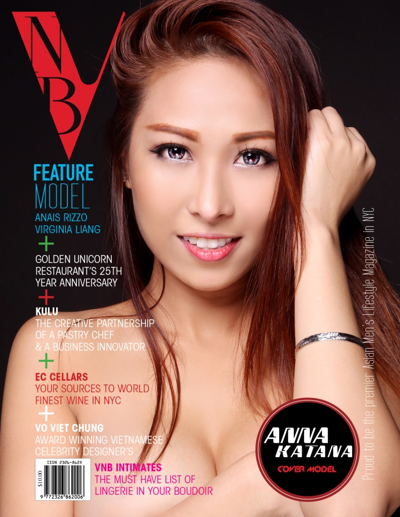 Cover model: Anna Katana