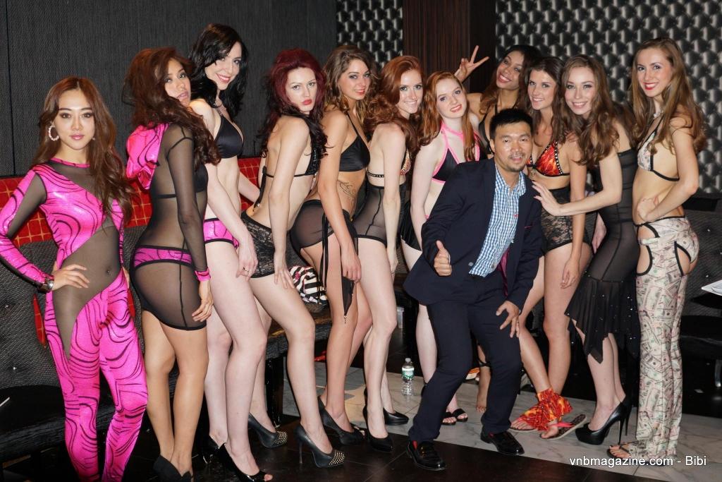 VNB magazine lingerie show.