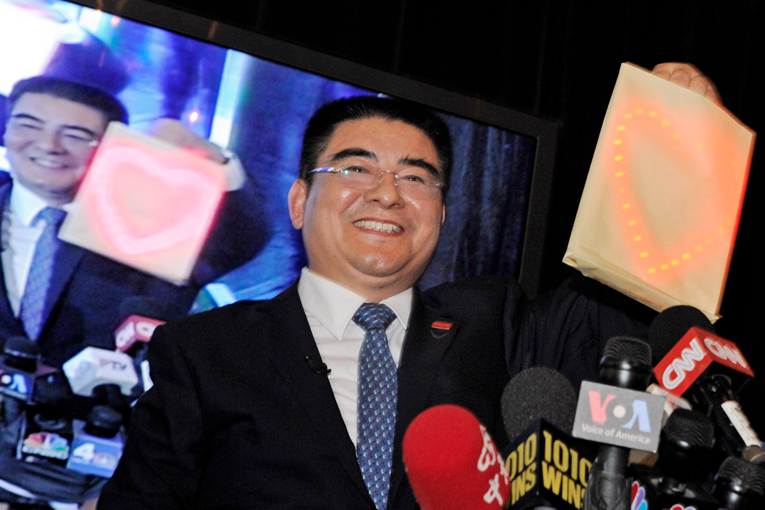 Chinese millionaire. Chen Guangbiao