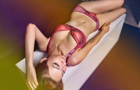 VNB magazine feature model: VIRGINIA LIANG