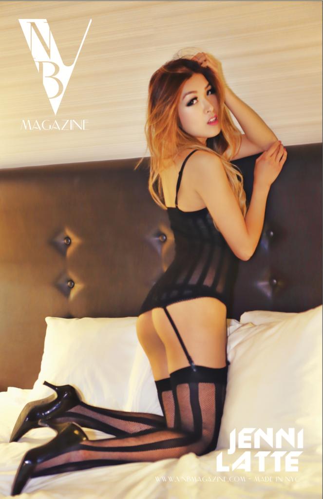 VNB magazine model: Jenni Latte