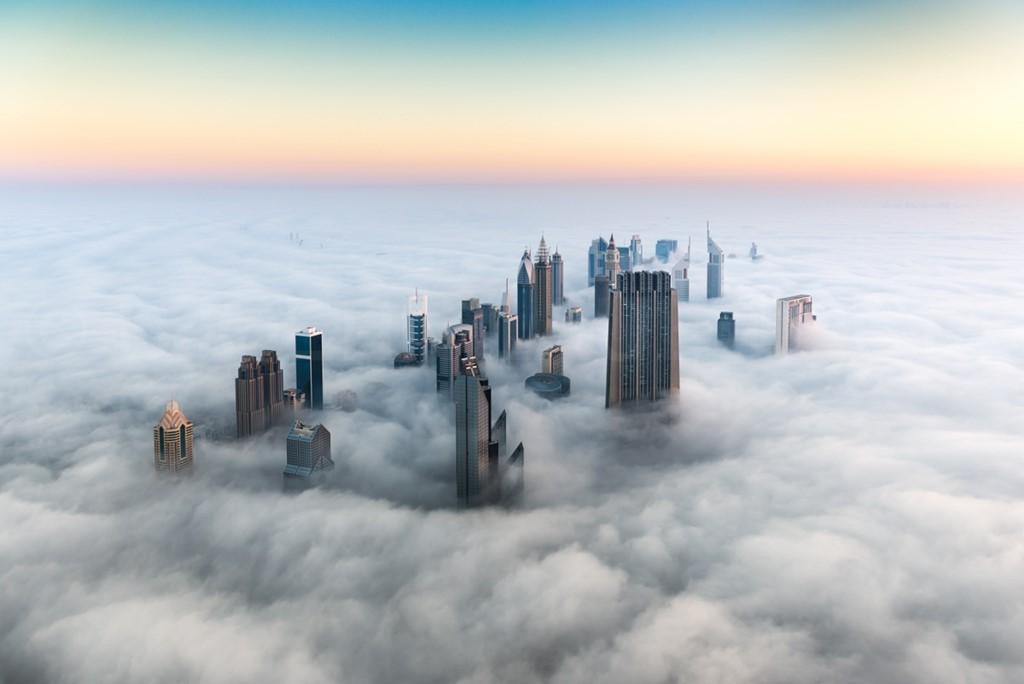 Dubai, the impressive view from above.
