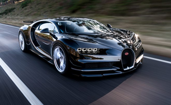 5 things to know about the super car Bugatti Chiron