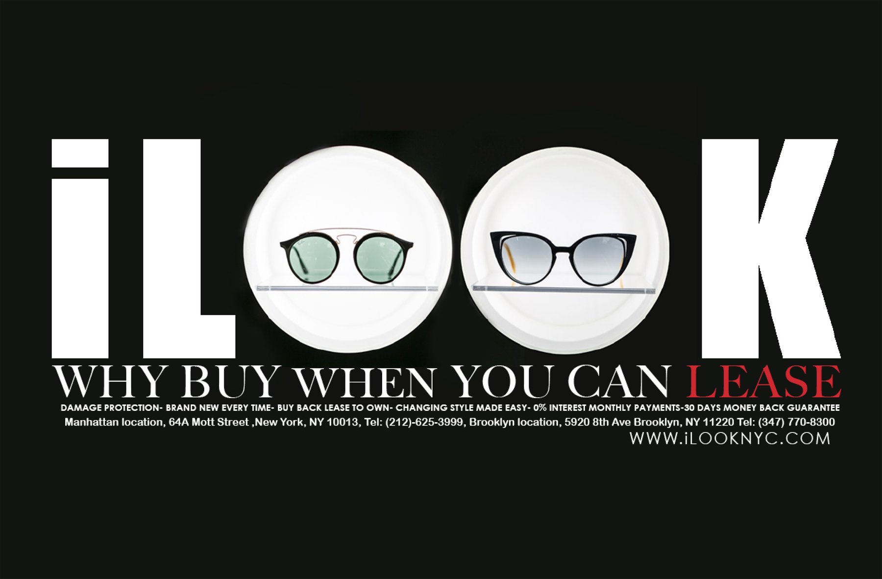 Choosing the correct glasses to fit your face shape at iLOOK.