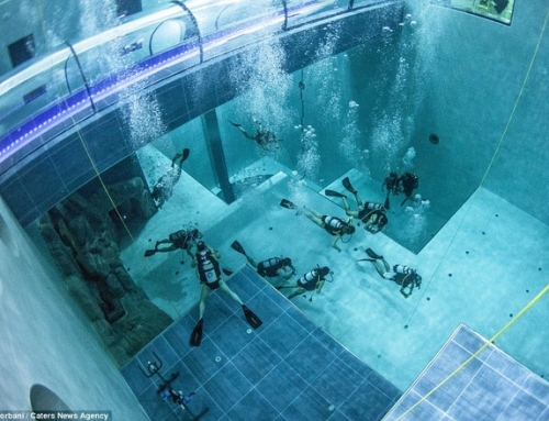 Inside the world's deepest pool