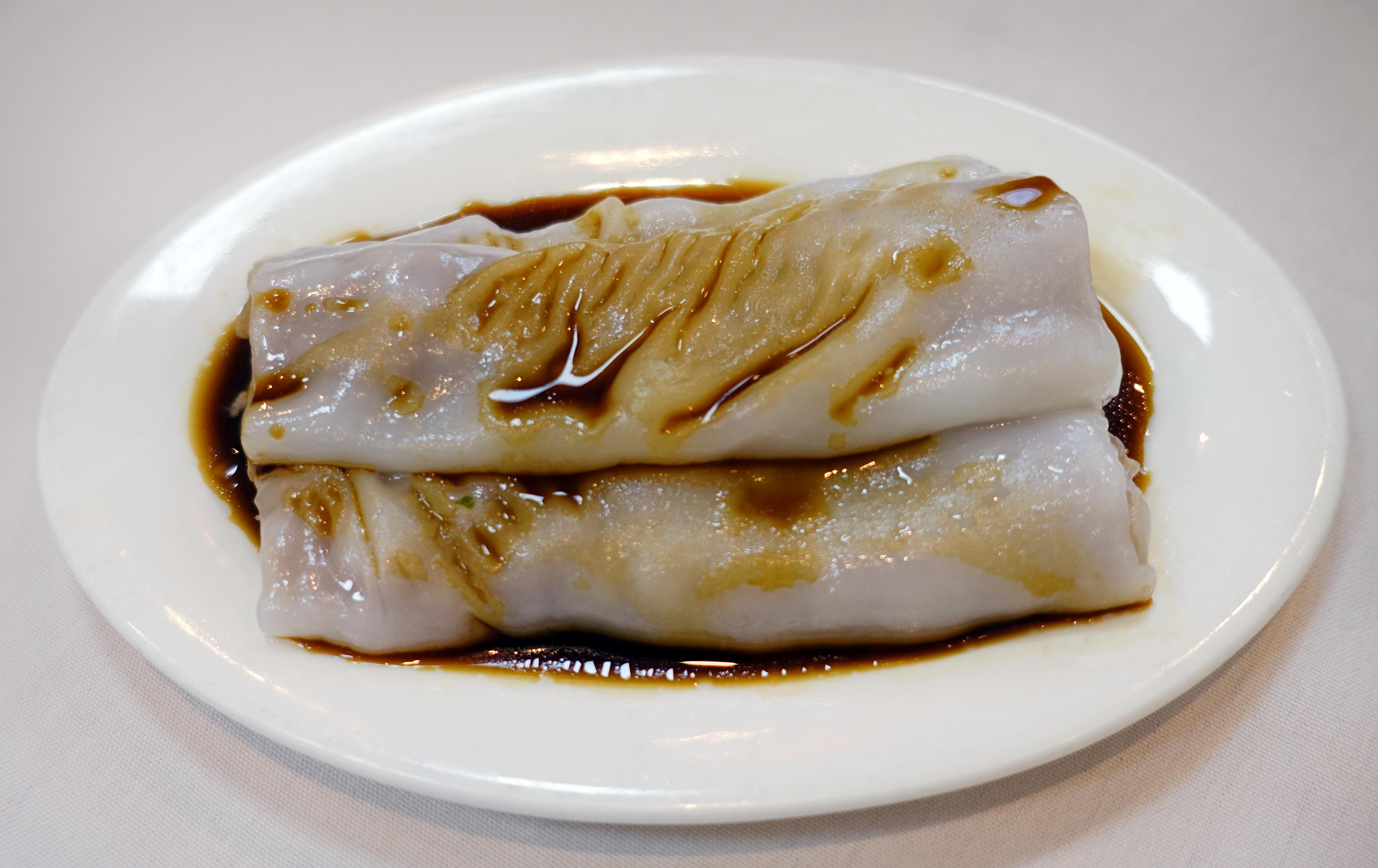 牛肉腸粉 Beef rice rolls