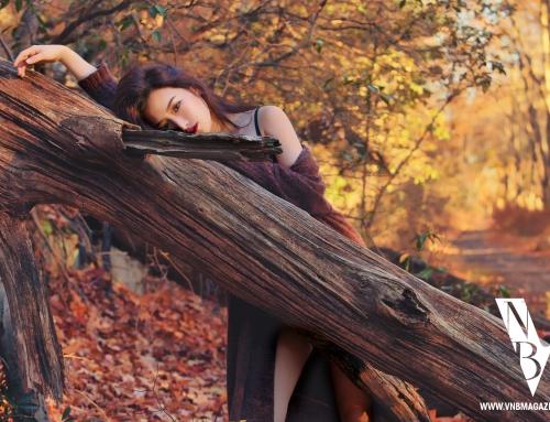 VNB magazine feature model: Joslin Wang