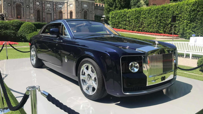 Rolls-Royce Sweptail is the most expensive car of all time