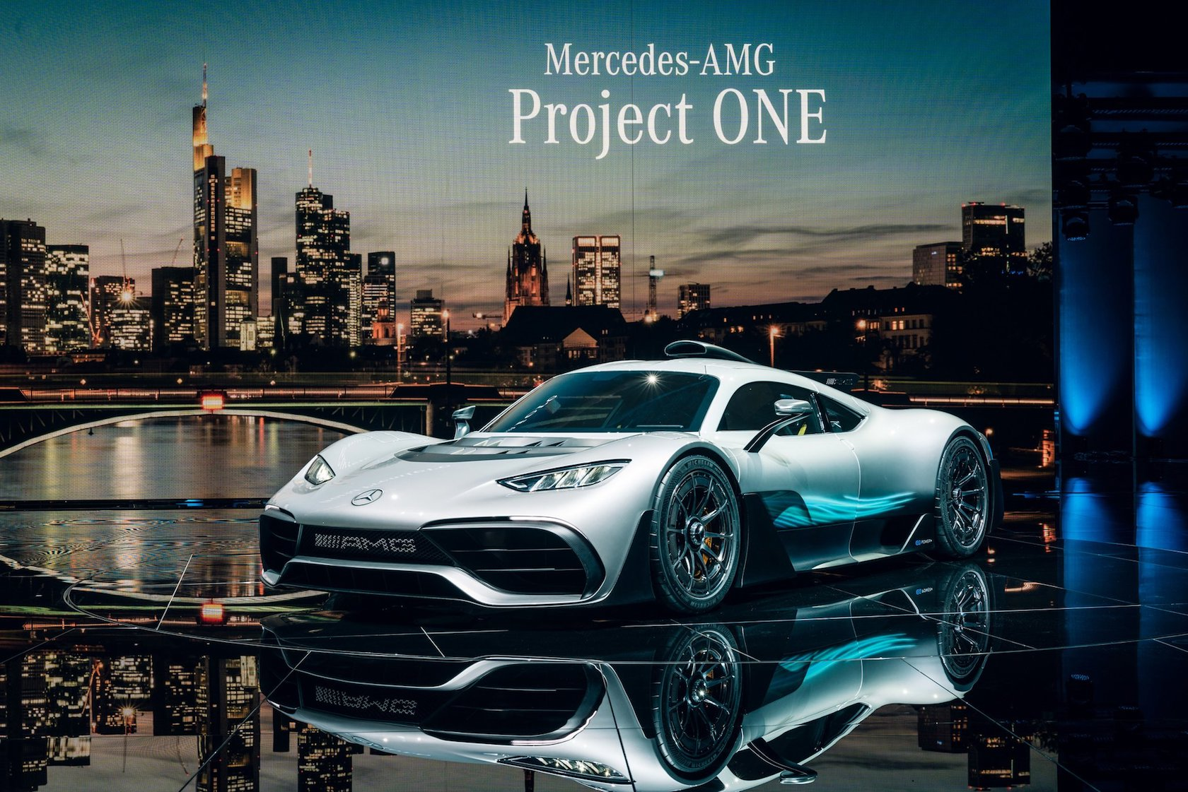 Hottest Car Premier of the Year! Mercedes- AMG Project One