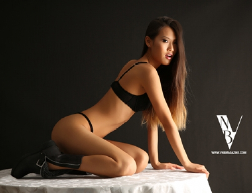 VNB magazine feature model: Ling Ling